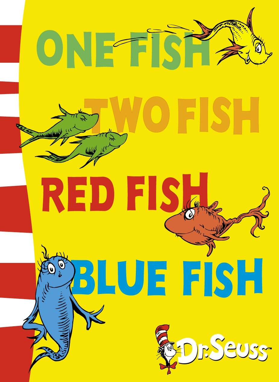 One fish two fish red fish blue fish landlsworkingmum for Fishpond books